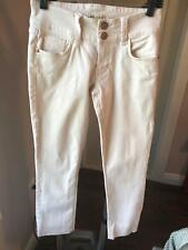 EUC CAbi Jeans Blush Colored SZ 2 5 Pocket Jeans