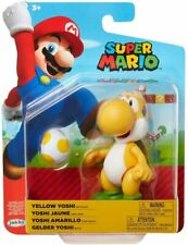 Super Mario 4 Inch Figures - Yellow Yoshi