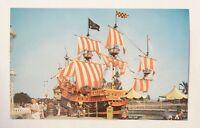 Disneyland Postcard, Chicken of the Sea, #P14927 - Vintage Unused Giant 1955