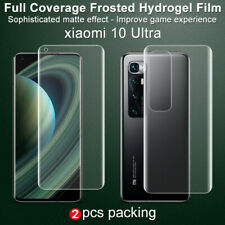 2pcs IMAK Full Coverage Matte Soft Hydrogel Screen Film For Xiaomi Mi 10 Ultra