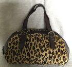 NWOT ADRIENNE VITTADINI Brown Leather/Fur Tote/Shoulder Bag / Handbag