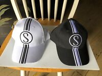 Stingray Grey Ghost & Cotton Picker Bicycle Baseball Caps Schwinn Krate bike hat