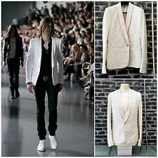 Rare&Great Dior Homme SS05 Single Button Slim Fit Light Pink Lapels Cropped JKT