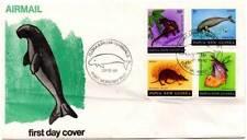 Sobre Primer Día Flora & Fauna. Papua Nueva Guinea. 29-10-1980