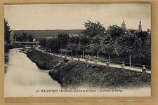 Cpa Bretagne Malestroit - les bords du canal le chemin de halage rp0497