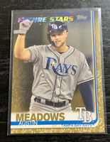 Austin Meadows Future Stars Gold 1600/2019 2019 Topps #564 Tampa Bay Rays