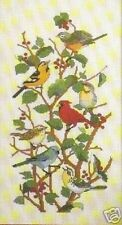 Cross Stitch Chart - Feathered Friends - 7 Different Breeds Of Bird