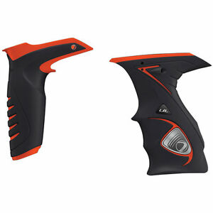 Dye DM14 Sticky Grip Kit - Black/Orange - Paintball