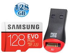 SAMSUNG CLASS10 microSDXC EVO PLUS 128GB 128G micro SD micro SDXC U3 4K 100MBs +