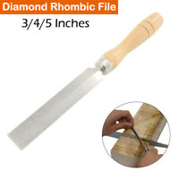 "3"" 4 "" 5 "" Diamond Feather Edge File Wood File Wood Carving Tools for Carpenters"