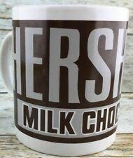 "HERSHEY'S  MILK CHOCOLATE Ceramic 3 3/4""   Cup  NEW OLD STOCK"