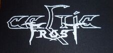 Celtic Frost Patch Black Metal Hellhammer Venom Darkthrone Bathory Voivod Sodom