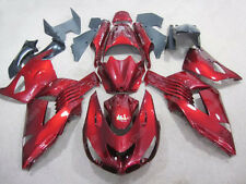 Hot ABS Plastic Rose Fairing Bodywork Injection Kit For 2006-2009 Kawasaki ZX14R