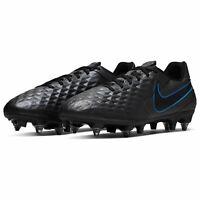 Nike Tiempo Legend Academy SG Football Boots Mens Black/Blue Sports Footwear