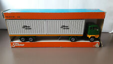 Tekno 426 Volvo F89 Container Auflieger  Metall  1:50  Org. in OVP DEMO PROMO