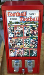 Vintage Table Top/Wall  Sports Card Vending  Machine .QTR     **Hard to Find**