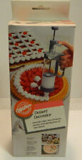 Wilton Dessert Decorator Cakes, Hor d'oeuvres, Pastries (5) Nozzles New In Box