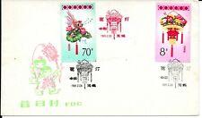 CHINA 1985 LANTERNS FDC