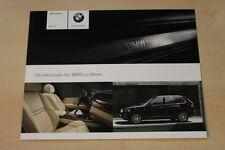 75261) BMW X5 - individual - Prospekt 02/2009