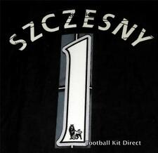 Arsenal szczesny 1 Football Shirt Name/Number Set Child/Youth Printing