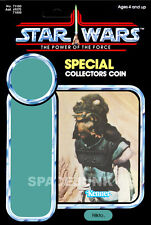 STAR WARS: POWER OF THE FORCE Nikto (1985) Repro Kenner Cardback