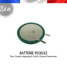 Batterie Remplacement PD3032 200mAh pour Garmin Approach Golf S1 S2 S3 S4