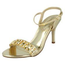 Sandali e scarpe da sera d oro per il mare da donna  a7d366f505d