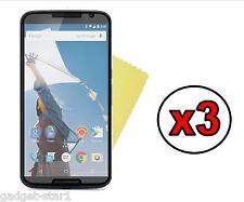3x Hq Mate Anti Glare Screen Protector Tapa Protector Para Motorola Google Nexus 6