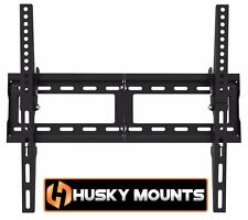 Flat Tilting TV Wall Mount 32 42 48 52 60 65 LED LCD Samsung Sony LG Vizio