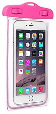 Caseit Universal IPX8 Rated Waterproof iPhone and Smartphone Pouch Pink