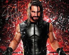 SETH ROLLINS #1 (WWE) - 10X8 PRE PRINTED LAB QUALITY PHOTO PRINT