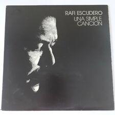 Rafi Escudero Una Simple Canción TIERRAZO TLP-0010 LP VG+ #2455