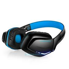 Wireless Bluetooth4.1 Headphones Foldable Gaming Headset w/ Mic For PC/PS4/Phone