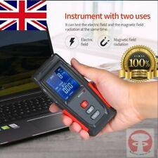 RECHARGEABLE POWERFUL 5G 4G EMF RADIATION METER TESTER DETECTOR ELECTROMAGNET UK