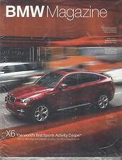 BMW MAGAZINE February 2008~Advanced Diesel~Safety~Chile~X6~NEW SEALED...F114
