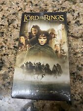 Nice Vintage VHS The Lord Of The Rings Factory Sealed Fellowship Of The Ring