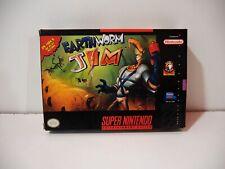 Earthworm Jim Nintendo Super NES SNES US