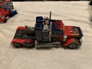 Transformers 2007 ROTF Movie Optimus Prime Leader Class Autobots