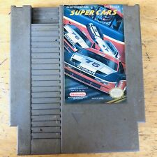 Super Cars (Nintendo Entertainment System, 1991) AUTHENTIC - TESTED!