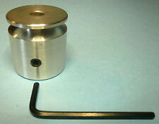 """1-5/16"""" Dia x 1/4"""" Wide V-Belt Pulley Aluminum x 5/16"""" (8mm) Bore +Set Screw New"""