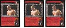 WWE RAW DEAL - 3X Headstrong *FREE SHIPPING* RARE Reversal HEAT