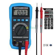 ADM02 Digital Auto Range Clamp Multimeter AC DC Voltage Current Temp Resistance