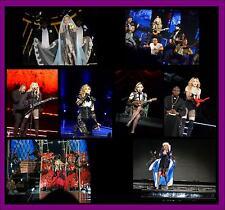 MADONNA REBEL HEART TOUR 1800 PHOTO CD CONCERT LIVE SET 10,11,12 GLASGOW HEART
