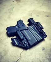 """Fits Glock 26/27 - """"ARSENAL"""" Appendix IWB Kydex Concealed Carry Holster"""