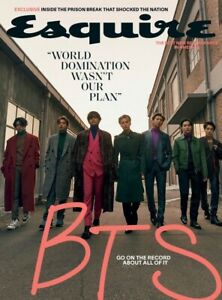 ESQUIRE MAGAZINE-WINTER 2020-GO ON THE RECORD ABOUT ALL OF IT-BTS-IN STOCK