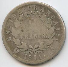 Napoleon Ier (1804-1814) 2 Francs 1811 A Paris