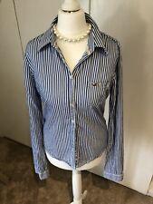 Holister Blue Stripe Cotton Shirt sM