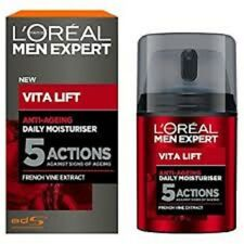 2 x Loreal Men Expert Vita Lift 5 Complete Anti-Ageing Moisturiser 50ml EACH