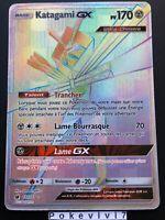 Carte Pokemon KATAGAMI 117/111 GX Secrète Rainbow Soleil et Lune 4 SL4 FR NEUF