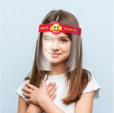 Safety Full Face Shield for Kids Reusable